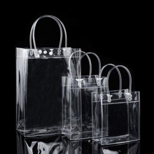 Foto Produk Tote Bag PVC Transparan Shopping Bag - Large dari ULTRAVIOLET83