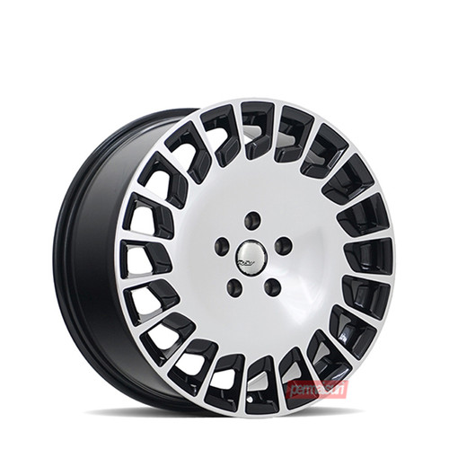 Foto Produk RAV Zirkel R18 Black Gloss Polish Velg ori for HRV, Xpander, Vellfire dari PERMAISURI