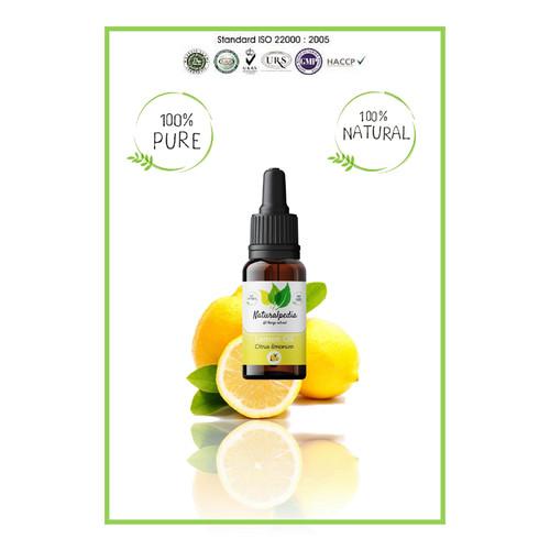 Foto Produk Pure Lemon Essential Oil / Minyak Esensial Lemon Murni 10ml dari Naturalpedia Shop