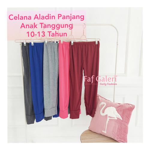 Foto Produk Celana Aladin Panjang Anak 10-13 Tahun - Celana Panjang Anak Perempuan - Hitam dari FAF Galeri
