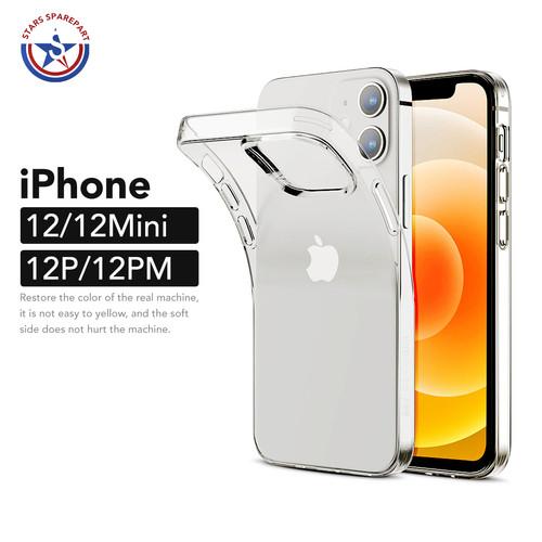 Foto Produk iPhone 12 Mini 12 Pro Max Transparan Bening Soft Case Perfect Casing - iPhone 12 Mini dari Stars Sparepart