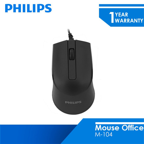 Foto Produk Philips Mouse Wired M-104 dari Philips Computer