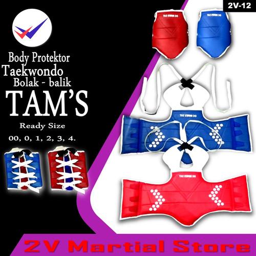Foto Produk Body Protector Taekwondo (Hugo) Bolak-Balik dari 2V Online Shop