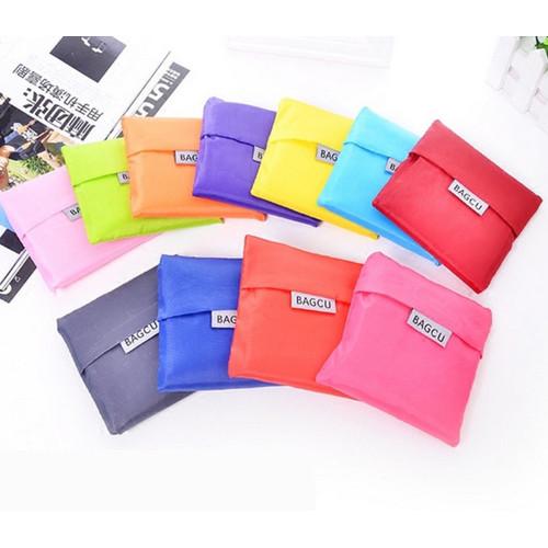 Foto Produk Baggu /Bagcu shopping bag/ TAS / Kantong belanja jinjing lipat modis - Hitam dari stationery bandung