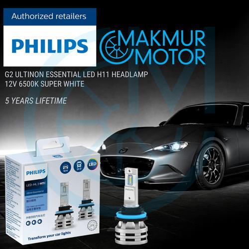 Foto Produk PHILIPS LED H11 HEADLAMP Ultinon Essential G2 12V/24V 6500K dari Makmur Motor Indo
