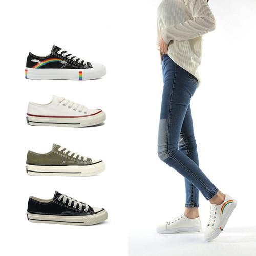 Foto Produk PVN Sepatu Sneakers Wanita Sport Shoes 029 - white, 39 dari PVN Official Store
