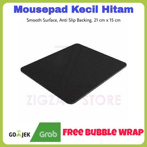 Foto Produk Mousepad Kecil 22 x 18 cm - Hitam dari ZigZag-Store