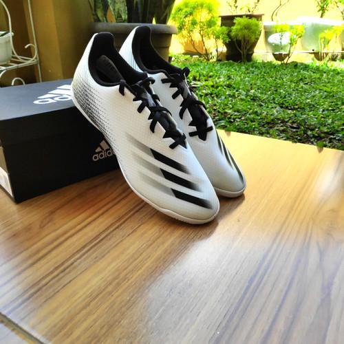 Foto Produk Sepatu Futsal Adidas X Ghosted 4 White / Black Original BNIB - 40 dari original_step