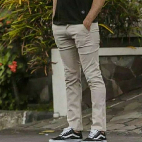 Foto Produk Celana panjang pria cinos jumbo - krem, 33 dari Rismaco olshop