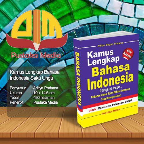 Foto Produk Kamus Lengkap Bahasa Indonesia Kecil Ungu dari Pustaka Media Surabaya