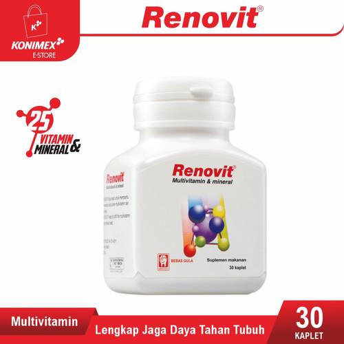 Foto Produk RENOVIT Multivitamin & Mineral Botol 30 Kandungan Lengkap untuk Sehat dari Konimex Store
