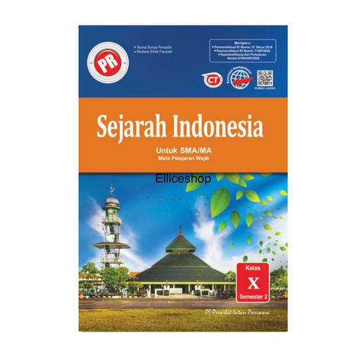 Foto Produk Buku PR/ LKS Sejarah Indonesia SMA kelas 10/ X, SMT 2 Intan Pariwara dari Ellice Shop