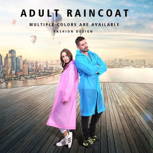 Foto Produk Jas ujan Eva raincoat transparan dari BBTronik