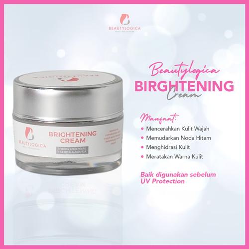 Foto Produk [BPOM] Krim Pemutih Kulit Wajah | Obat Mencerahkan Wajah - Brightening dari Beautylogica Skincare