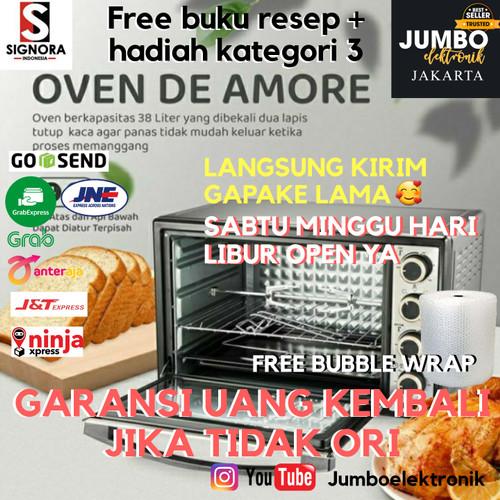 Foto Produk Signora Oven De Amore Bonus Hadiah 38 Liter Oven De Amore Signora 38l dari Jumbo Elektronik