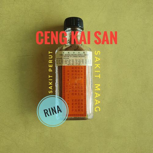 Foto Produk Ceng Kai San / Ciang Kai San / Obat Twee Siong Woak Hwet Swar dari Rina