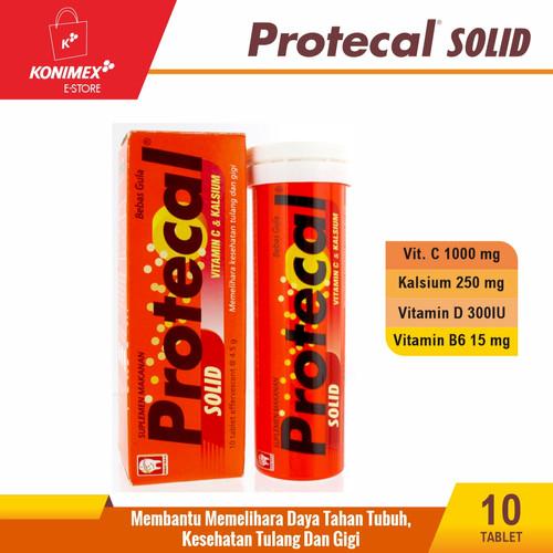 Foto Produk PROTECAL SOLID Vitamin Tube isi 10 Tulang Sehat untuk Masa Depanmu dari Konimex Store
