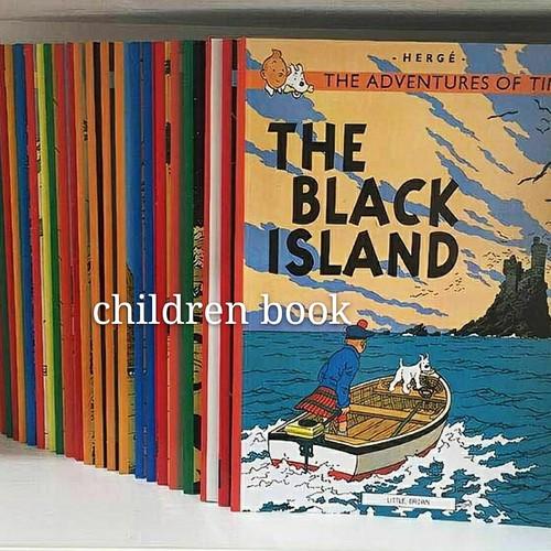 Foto Produk the adventures of tintin 23 books dari children book