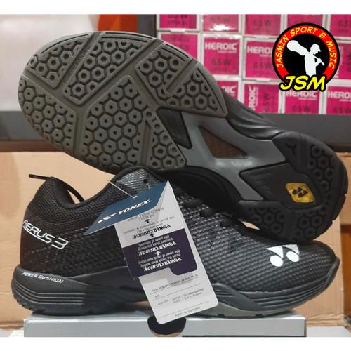 Foto Produk Sepatu Badminton YONEX AERUS 3 MEN - Warna Hitam dari Jasmin Sport