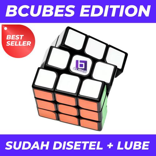 Foto Produk Rubik 3x3 - BCUBES YJ GUANLONG- Black Base dari Balam Cubes