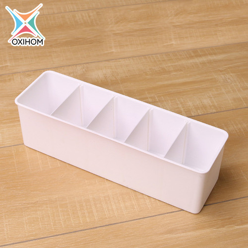 Foto Produk Oxihom S3602 Tempat Pakaian Dalam Kaos Kaki 15 Box Underwear Socks - S3604 Putih dari Oxihom