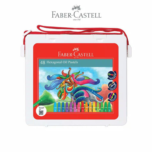 Foto Produk Crayon / Oil Pastel Faber Castell 48 Warna dari SALAMAH JAYA UTAMA