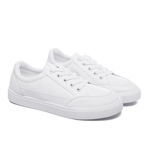 Foto Produk PVN Sepatu Sneakers Wanita Import 479 - white white, 38 dari PVN Official Store
