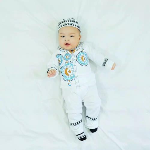 Foto Produk Setelan Baju Kokoh Anak Bayi Laki Laki Usia 6 Bulan - 2 Tahun Murah - S dari Smart Parents
