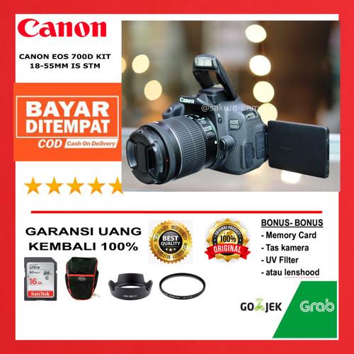 Foto Produk Canon 700d kit 18-55mm dari SAKURA CAMERA