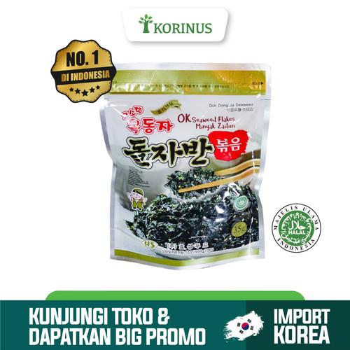 Foto Produk Korinus Ock Dong Ja Seaweed Flakes / Ock Dong Ja Flakes Halal dari KORINUS