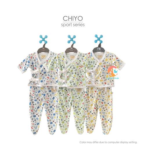 Foto Produk CHIYO Setelan Kimono Panjang & Celana Tutup Kaki Newborn - Sport Kuning dari Lemari Anak