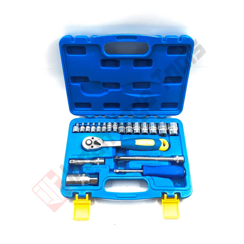 Foto Produk LIPPRO 1180M Kunci Sok Set 21 Pcs BOX PVC 6 PT - Socket Sock Shock Set dari Indah Jaya Tools