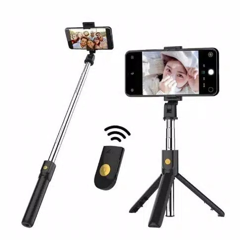 Foto Produk Tongsis Bluetooth + Tripod K07 - Selfie Stick Bluetooth Shutter dari PINZY Official Store