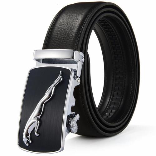 Foto Produk Tali ikat pinggang kulit asli Celana panjang kantor pria rel.-Panther- dari variannet