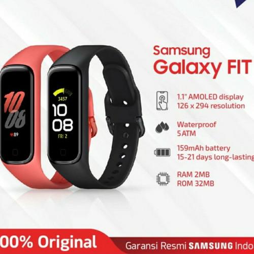 Foto Produk Samsung galaxy fit 2 garansi resmi sein - Merah dari Market Plan
