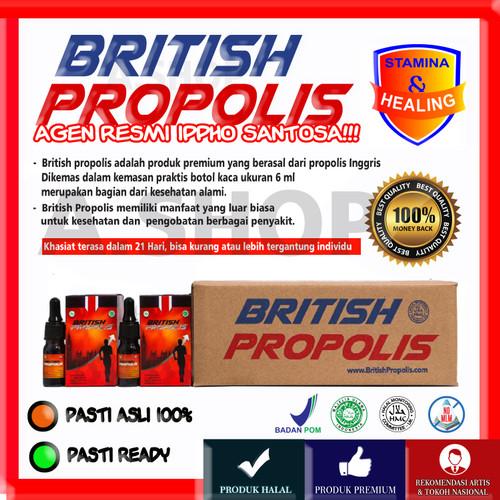 Foto Produk British Propolis - Obat Herbal Alami - Harga Resmi Rp 250.000 dari A. Shop