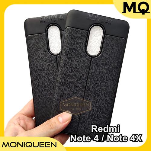 Foto Produk Xiaomi Redmi Note 4 / 4X Case Auto Focus Leather Softcase Autofocus dari MoniQueenShop