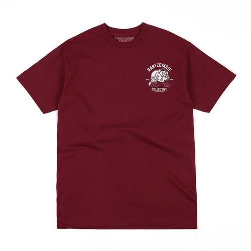 Foto Produk BABY ZOMBIE - Tshirt Ratte Maroon - M dari Baby Zombie Co.