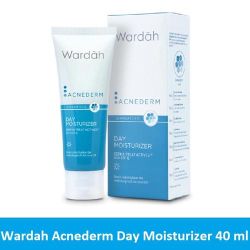 Foto Produk Wardah Acnederm Day Moisturizer 40 ml dari Debelleza Shop
