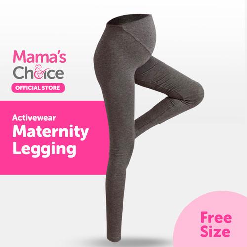 Foto Produk Mama's Choice Active-wear Maternity Legging - Legging Hamil Mama's Cho - Dark Grey dari MamasChoiceID