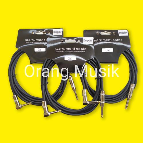 Foto Produk Kabel Jack 3 Meter Import - Kabel Jack Gitar Bass dan Keyboard 3m dari Orang Musik