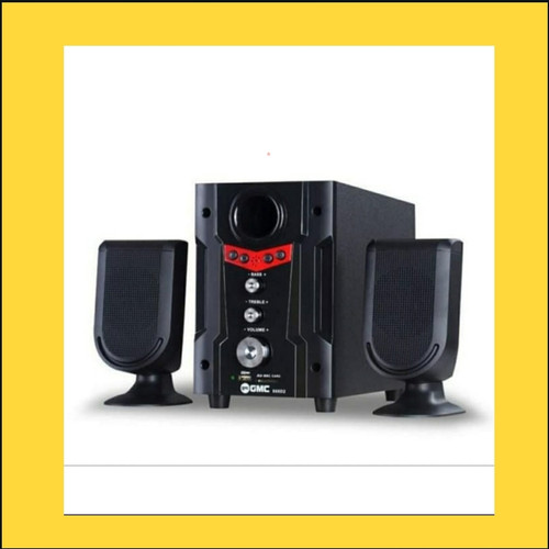 Foto Produk Speaker GMC 888D2 BT Bluetooth Aktif Multimedia Speker dari GROSIR JAYA 445