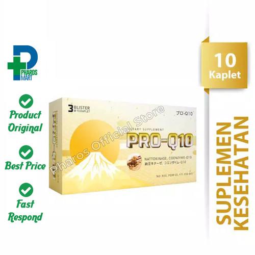 Foto Produk Pro-Q10 1 Blister @ 10 Kaplet Suplemen Kesehatan dari Pharos Official Store