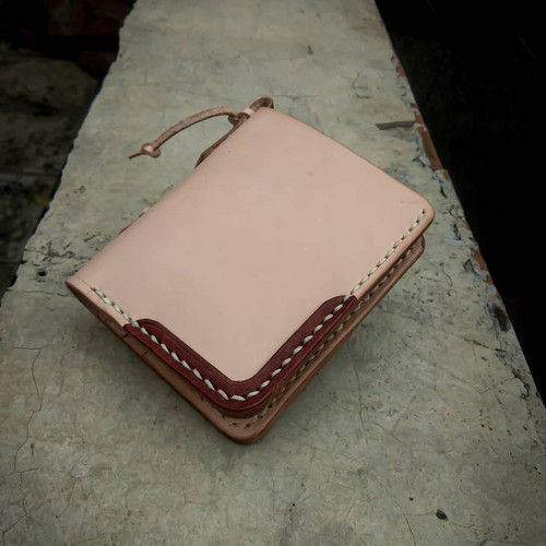 Foto Produk GAIL vegtan leather compact wallet dari treis leather
