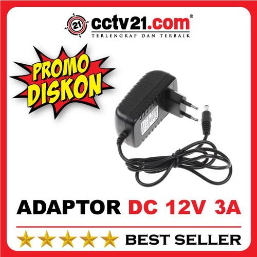 Foto Produk CCTV21 Promo Diskon Adaptor AC 220V Output DC 12V 3A Murni dari CCTV21