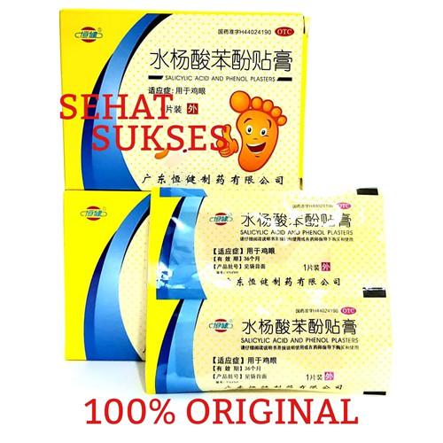 Foto Produk Plester/Koyo Obat Mata Ikan & Kutil(Shuiyangsuan Benfen Tiegao) dari SEHAT SUKSES88