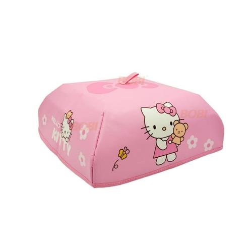 Foto Produk Tudung Saji Lipat Alumunium Foil - Medium - Hello Kitty dari AbadinternasionalTrading