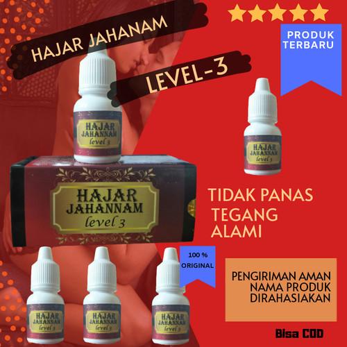 Foto Produk obat oles hajar super jahanam level 3 Original pria kuat tahan lama - 1 pcs dari hebako indonesia