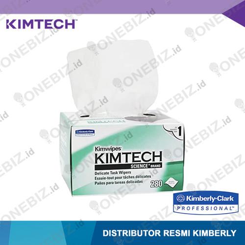 Foto Produk Kimtech Science* 34155A Kimwipes* EX-L, delicate task wipers, 1 ply, 2 dari ONEBIZ