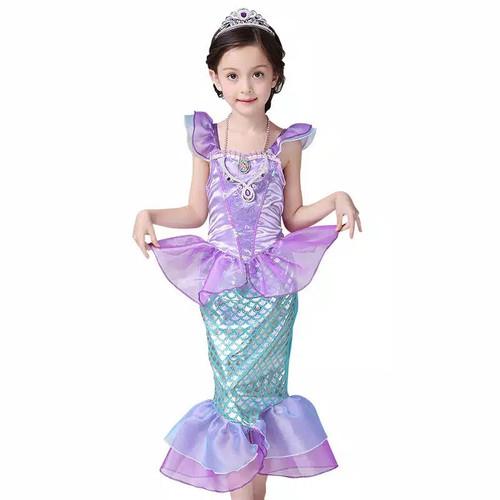 Foto Produk Dress mermaid anak princess ariel kostum costume cost play - 150 dari Mellyphang
